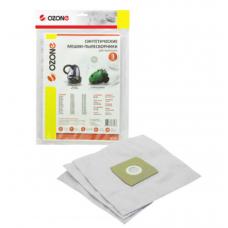 Мешки-пылесборники Ozone синтетические для пылесоса, 3 шт. SE-16