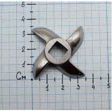 Нож для мясорубки внутренний квадрат 9*9мм Novis #5 код: NV001