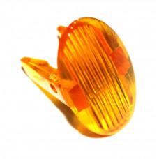 Желтая линза контрольной лапочки для плит G105133, 651066964, 346013500