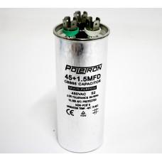 Конденсатор  45+1,5 мф 450V совмещенный. RF06B138