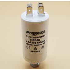 Конденсатор CAP 4,5 мф 450V. CAP508UN CBB60