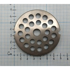 Решетка 8 мм к мясорубке TJ12 - 12.008, TJ12008